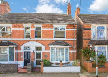 Thumbnail 4 bed end terrace house for sale in Tennyson Road, Kettering