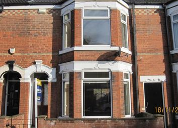 Thumbnail 3 bed terraced house to rent in Lee Street, Hull