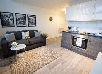 Thumbnail 1 bed flat to rent in Parker Street, Liverpool
