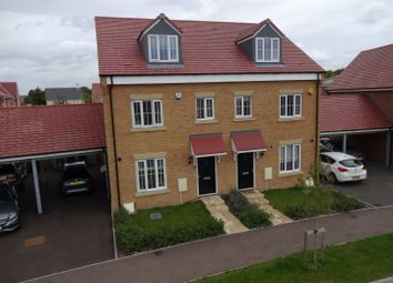 Thumbnail 4 bed semi-detached house for sale in Aylesbury Drive, Houghton Regis, Bedfordshire, Bedfordshire