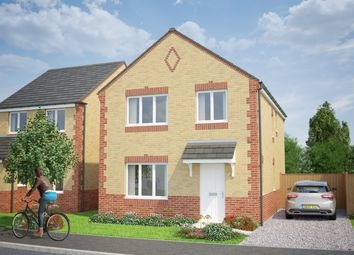 Thumbnail 4 bed detached house for sale in The Longford, Oswald Park, Oswald Street, Burnley, Lancashire