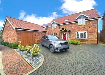 Thumbnail 4 bed detached house for sale in Dovetail Close, Wimbotsham, King's Lynn