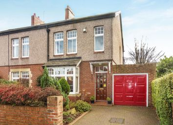 Thumbnail 3 bed semi-detached house for sale in Lyndhurst Road, Forest Hall, Newcastle Upon Tyne