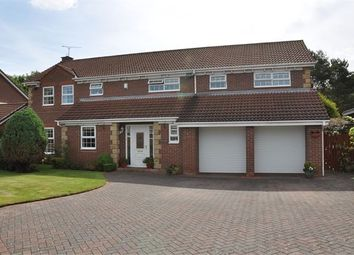 Thumbnail 6 bed detached house for sale in Carr Field, Ponteland