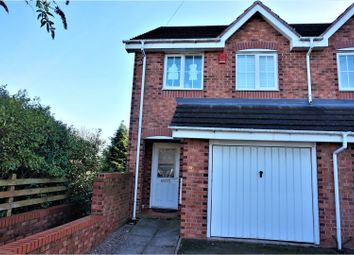 Thumbnail 3 bedroom semi-detached house for sale in Trotters Lane, West Bromwich