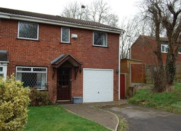 Thumbnail 4 bedroom semi-detached house for sale in Sykesmoor, Wilnecote, Tamworth