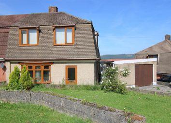 Thumbnail 3 bed semi-detached house for sale in Kingdon Owen Road, Cimla, Neath