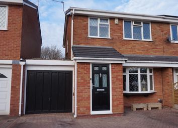 Thumbnail 3 bed semi-detached house for sale in Correen, Wilnecote, Tamworth