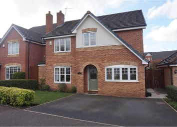 Thumbnail 4 bed detached house for sale in Woodlea, Altrincham