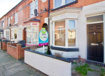 Thumbnail 2 bed terraced house for sale in Sylvan Street, Leicester