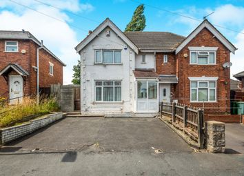 Thumbnail 3 bed semi-detached house for sale in Pattison Street, Walsall