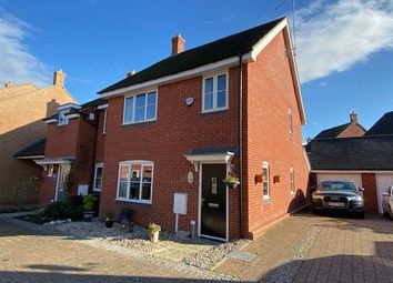 Thumbnail 3 bed semi-detached house for sale in Galileo Close, Duston, Northampton