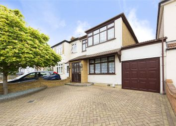 Thumbnail 3 bed end terrace house for sale in Laburnum Avenue, Hornchurch