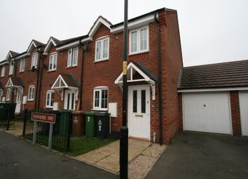 Thumbnail 3 bed end terrace house to rent in Newhome Way, Walsall