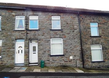 Thumbnail 3 bedroom terraced house to rent in Woodfield Terrace, Pontypridd