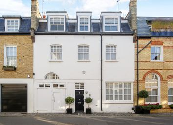 Thumbnail 3 bed mews house to rent in Clabon Mews, London