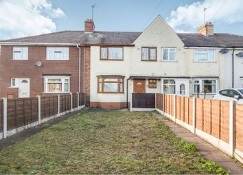 Thumbnail 3 bedroom terraced house for sale in Pinson Road, Willenhall