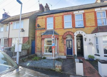 Thumbnail 3 bedroom end terrace house for sale in Hastings Avenue, Margate