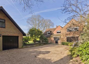 Thumbnail 6 bed detached house to rent in Granville Road, St Georges Hill, Weybridge