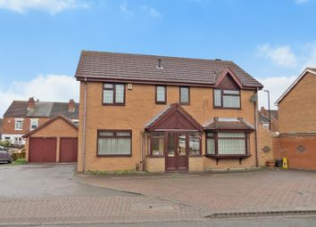 Thumbnail 4 bed detached house for sale in Rocken End, Foleshill, Coventry