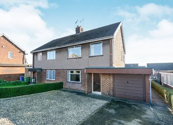 Thumbnail 3 bed semi-detached house for sale in Cordwell Close, Staveley, Chesterfield