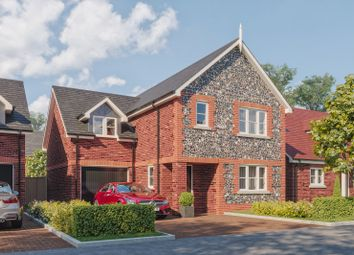Thumbnail 4 bed detached house for sale in Clay Lane, Fishbourne, Chichester