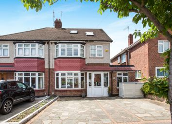 Thumbnail 4 bed semi-detached house for sale in Gilbert Road, Romford