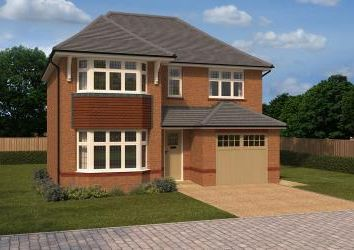 Thumbnail 4 bedroom detached house for sale in Guinevere Avenue, Stretton