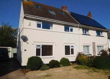 Thumbnail 4 bed property for sale in Sunhill Avenue, Topsham, Exeter