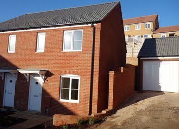 Thumbnail 3 bed semi-detached house to rent in Crocker Way, Wincanton, Somerset
