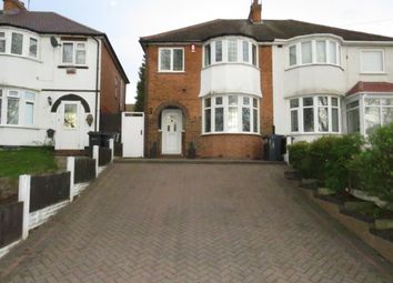 Thumbnail 3 bed semi-detached house for sale in Warren Hill Road, Kingstanding, Birmingham