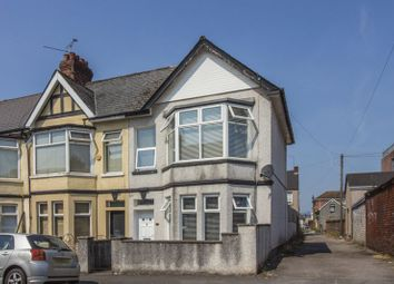 Thumbnail 3 bed end terrace house for sale in Blenheim Road, Newport
