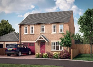 Thumbnail 4 bed detached house for sale in Old Bakery Close, Ratby, Leicester