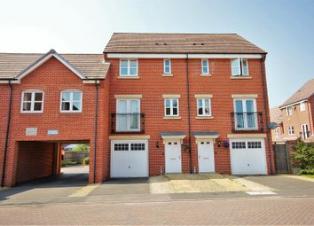 Thumbnail 3 bed town house for sale in Brodie Close, Rugby