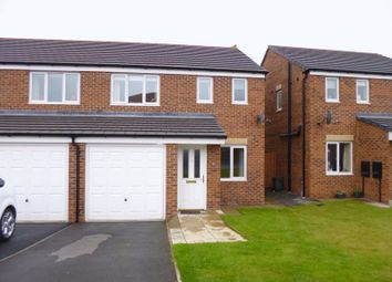 Thumbnail 3 bedroom semi-detached house for sale in Hutchinson Close, Coundon, Bishop Auckland