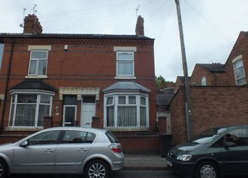 Thumbnail 5 bed terraced house to rent in Bakewell Street, Highfields, Leicester