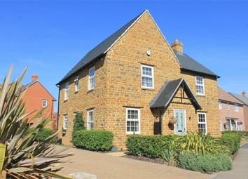 Thumbnail 4 bed detached house for sale in Blackthorn Crescent, Brixworth, Northampton