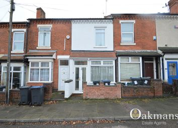 Thumbnail 2 bedroom terraced house for sale in Wallace Road, Selly Park, Birmingham, West Midlands.