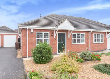 Thumbnail Semi-detached bungalow for sale in Bramble Close, Loughborough