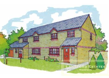 Thumbnail 3 bed semi-detached house for sale in Available Now The Rowans, Fakenham, New Build