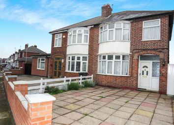 Thumbnail 3 bed semi-detached house for sale in Dean Road, Belgrave, Leicester