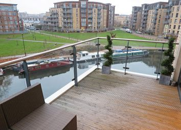 Thumbnail 2 bed flat for sale in Essex Wharf, London