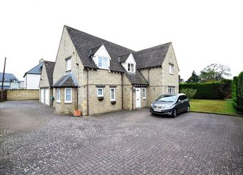Thumbnail 4 bed detached house for sale in Aston Road, Brighthampton, Witney