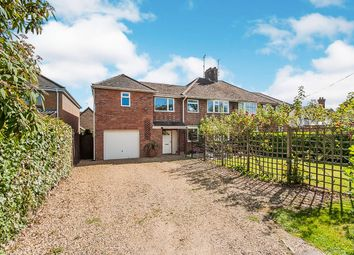 Thumbnail 5 bedroom semi-detached house for sale in Cotterstock Road, Oundle, Peterborough