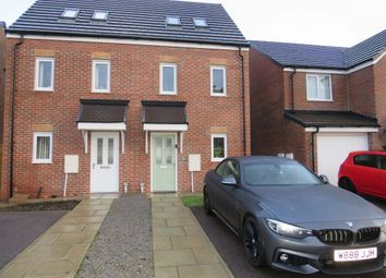 Thumbnail 3 bed semi-detached house for sale in Springbank, Peterlee