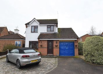 Thumbnail 3 bed detached house for sale in Cumberland Avenue, Bury St. Edmunds