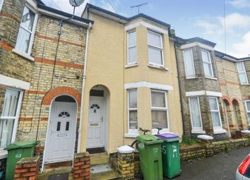 Thumbnail 3 bed terraced house for sale in Walton Road, Folkestone, Kent