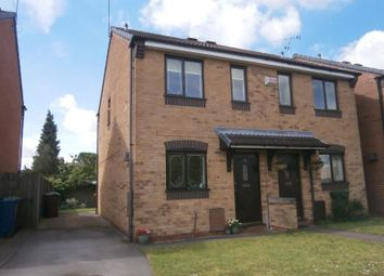 Thumbnail 2 bed semi-detached house to rent in Globe Avenue, Stafford