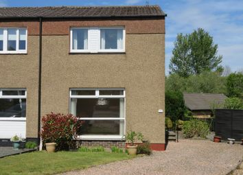 Thumbnail 3 bed semi-detached house for sale in 33 Abbotslea, Tweedbank, Galashiels
