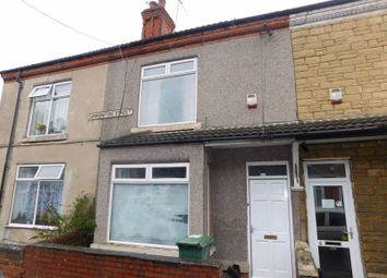 Thumbnail 2 bed terraced house to rent in Corporation Street, Mansfield